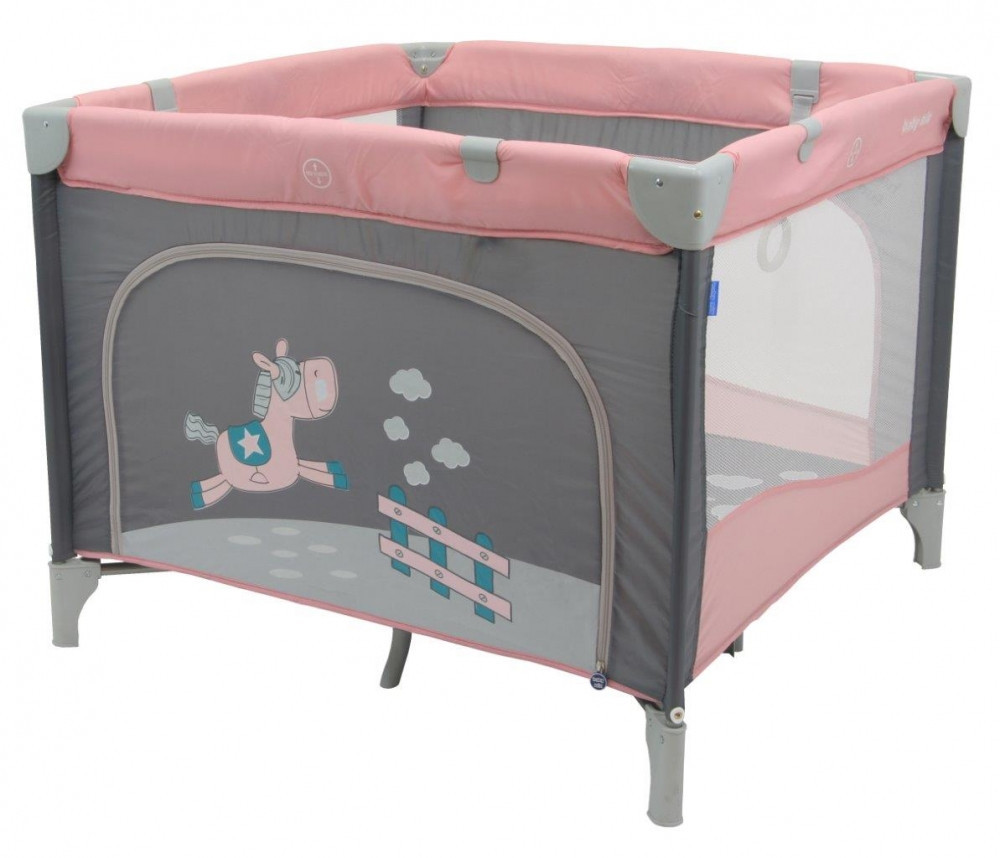 Дитячий універсальний манеж Baby Mix HR-SQ100 100x100 Pink