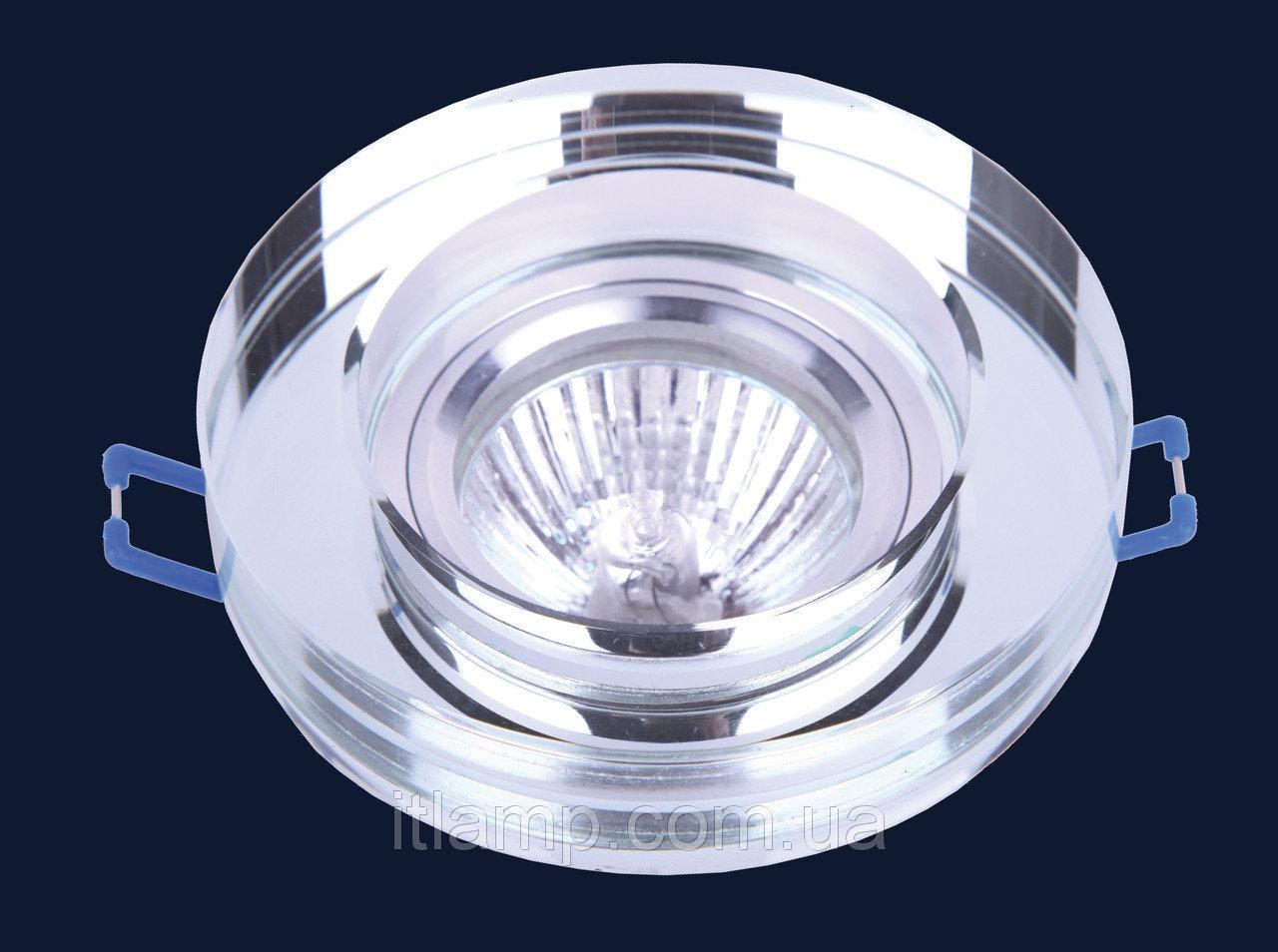 Врезной светильник со стеклом Levistella 705186