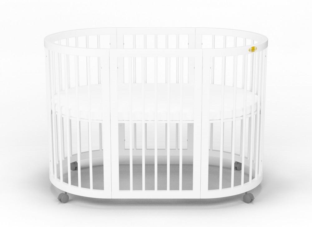 Детская кровать IngVart Smartbed Round Белый