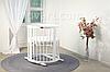 Детская кровать IngVart Smartbed Round Белый, фото 2