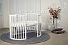 Детская кровать IngVart Smartbed Round Белый, фото 3