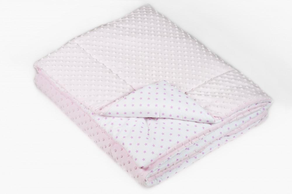 Ковдра в ліжечко Twins MInky 115/155 Pink