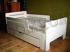 """Белая подростковая кровать """"Джек"""" односпальная из дерева  в Одессе"""