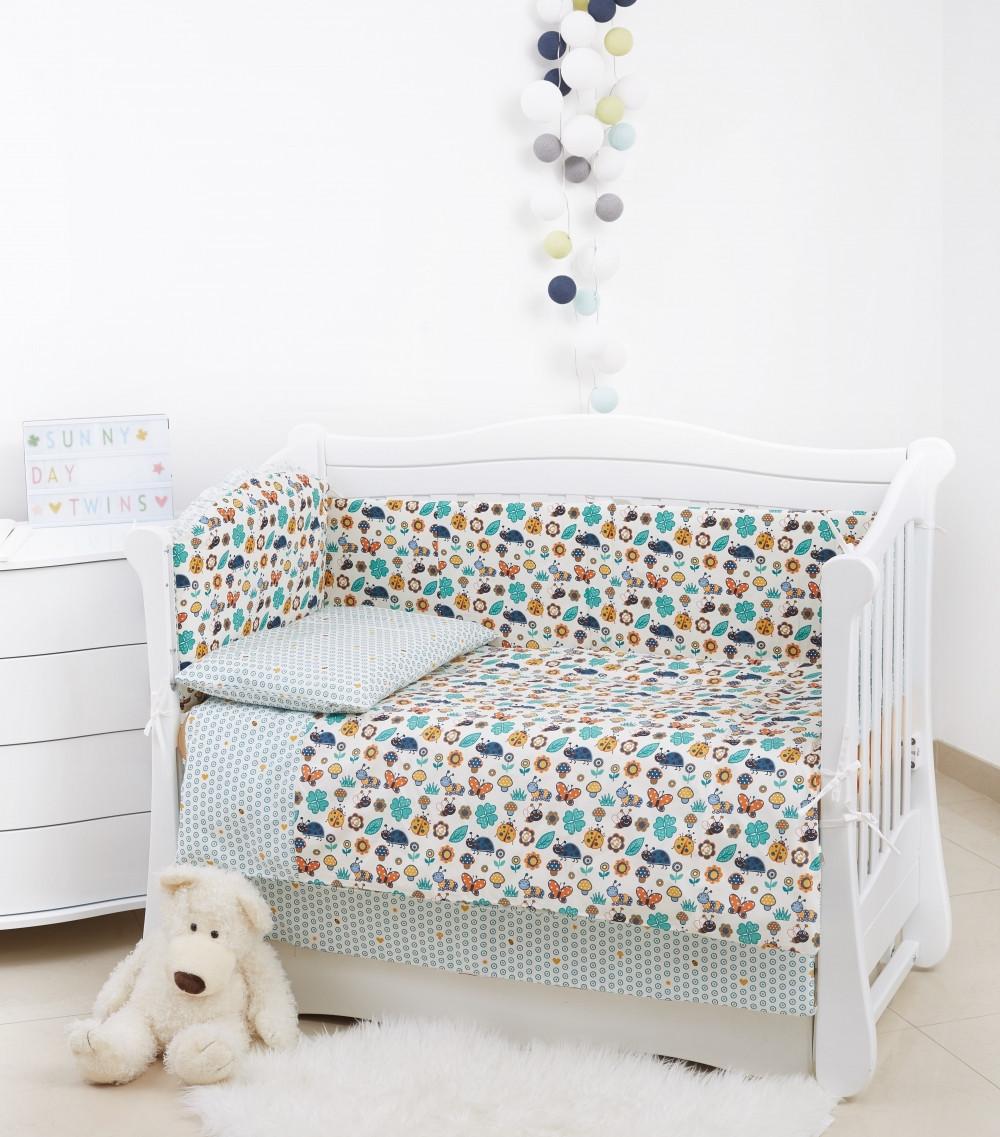 Детская постель Twins Comfort 4 элемента multi
