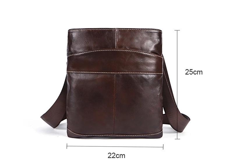 93dc93a44b19 Мужская сумка через плечо из натуральной кожи, цена 950 грн., купить ...