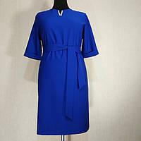 Женское платье осеннее большой размер для полных женщин батал №351