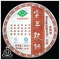 Чай Шу Пуэр Пу Вэнь Юнь Я Шу Бин 2014 год