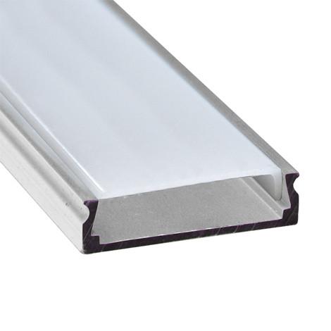 Алюминиевый профиль для светодиодной ленты накладной Feron CAB263 (2 метра)