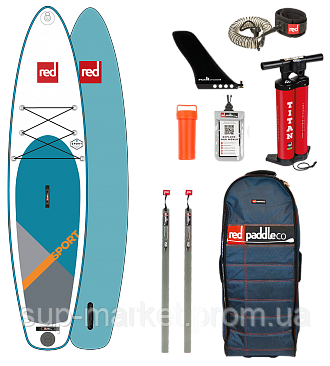 """SUP доска Red Paddle Co Sport 12'6"""" x 30"""", 2019"""