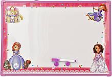 Доска магнитно-маркерная сухостираемая детская с английским алфавитом (25*35см), фото 2