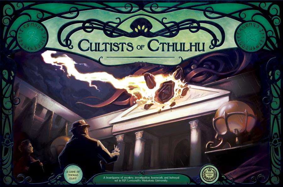 Настольная игра Cultists of Cthulhu