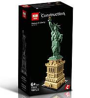 "Конструктор Lepin 17011 ""Статуя Свободы"" 1887 деталей. Аналог Lego Architecture 21042"