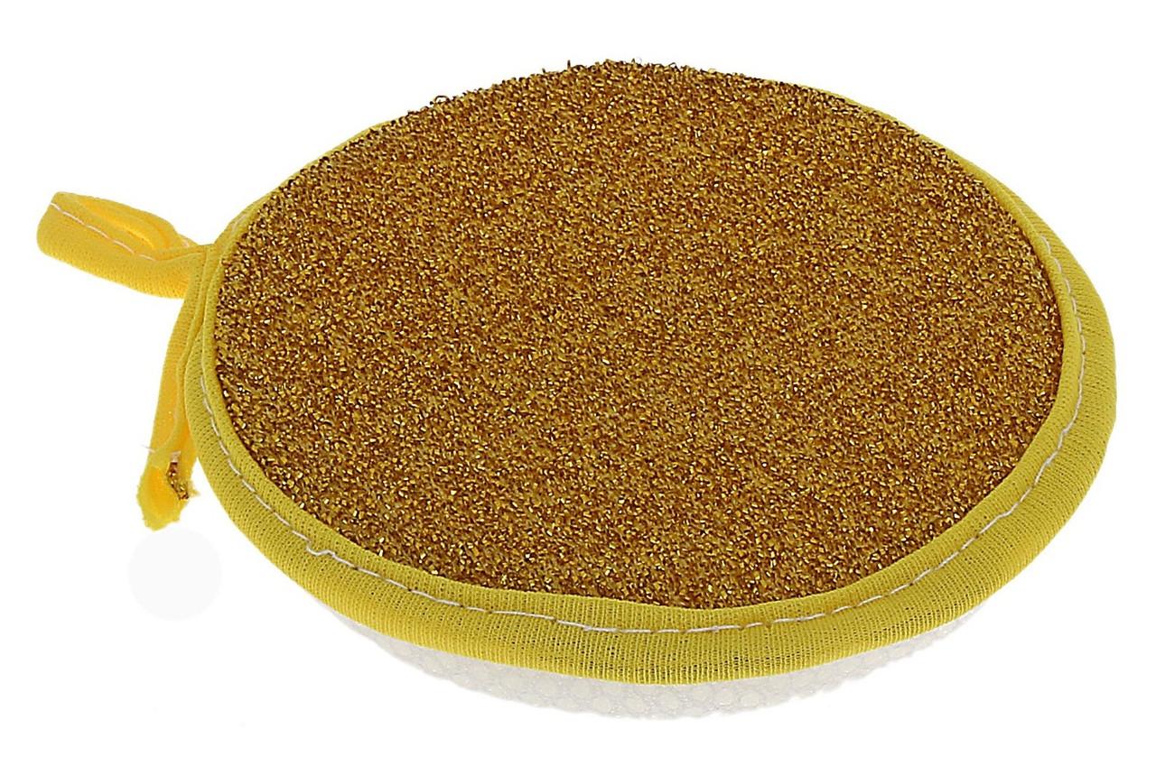 Губка кухонная круглая Солнышко