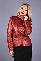 Курточка женская кожа - заменитель от производителя , фото 1
