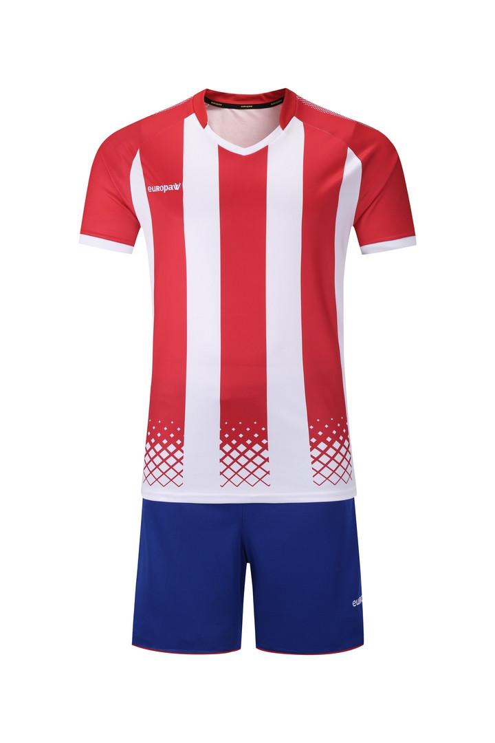 Футбольная форма Europaw (красно-белая) 020