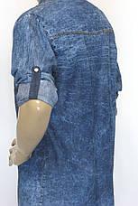 Жіноча джинсова сорочка Keyan, фото 3