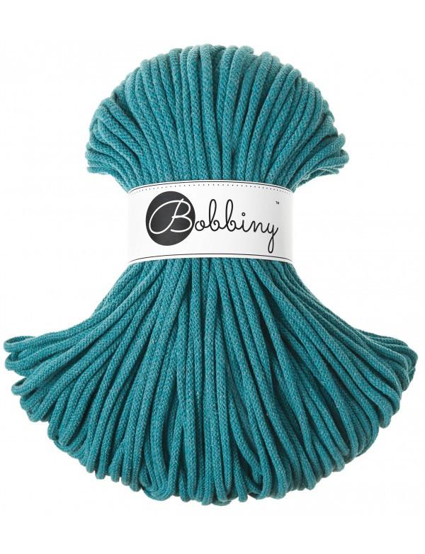Bobbiny шнур для вязания 5 мм цвет бирюзовый цена в украине пряжа