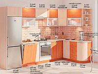 "Кухня Софт ""КХ-81"" (3,23х1,7м)(Комфорт)"