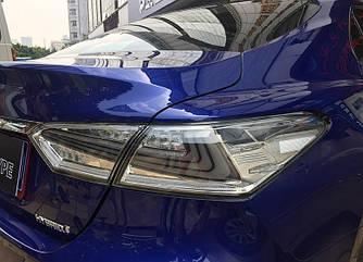 Диодные фонари LED тюнинг оптика Toyota Camry XV70 (хром)