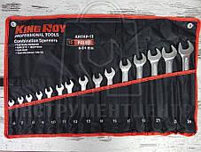 Набор ключей комбинированных KingRoy KRTRP-15 15 шт.