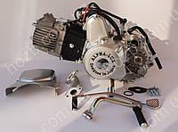 Двигатель на мопед Альфа; Дельта 110 куб, механика, фото 1