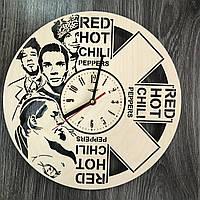 Концептуальные настенные часы в интерьер «Red Hot Chilli Peppers» , фото 1
