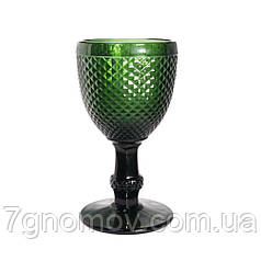 Набор 6 бокалов для вина из темно-зеленого стекла Bailey Emili по 200 мл