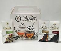 """Подарочный чайный набор  """"Завтрак на траве """", 150 г. ТМ НАДИН ( №64)"""