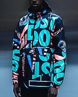 Куртки та жилетки M NSW JKT HD AOP IDJ(02-13-14-02) M