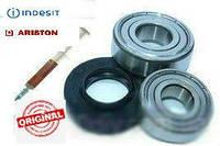 Комплект подшипников и сальник  25*47/64*7/10.5 для стиральных машин Indesit, Ariston