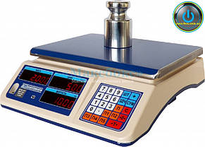 Весы торговые с поверкой до 30 кг ВТНЕ - 30Т1-1 (Дозавтоматы)