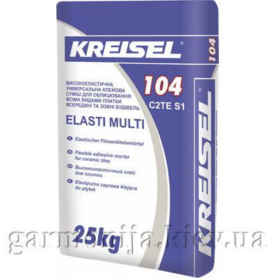Клей для плитки KREISEL 104 эластичный, 25 кг, фото 2