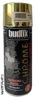 ⭐ Аэрозольная краска Золотая Хромовая BUDFIX 400 мл (10 шт)