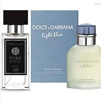 Духи Dolce&Gabbana - Light Blue Pour Homme. Парфюмерия мужская. Духи для мужчин. Парфюмерия для мужчин.