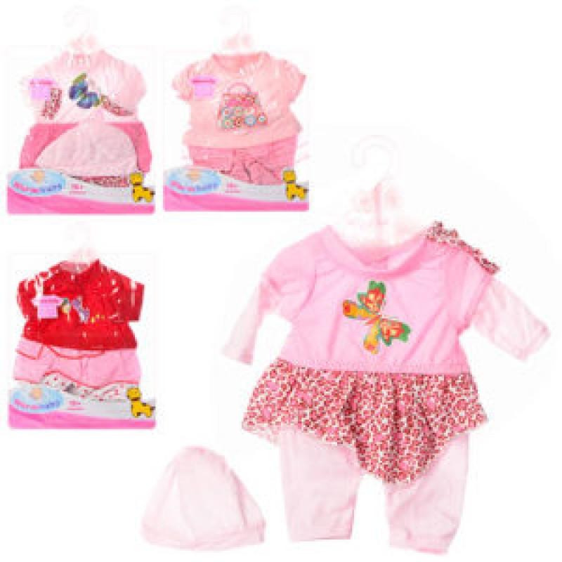 "Одежка для пупса Baby born 42 см ""BВ"" беби берн или сестрички беби берн, на вешалке, DBJ-448-457"