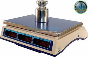 Весы торговые с поверкой до 15 кг ВТНЕ - 15Т1-1 (Дозавтоматы)