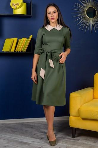 Платье Беатрисс хаки (M-XXL)