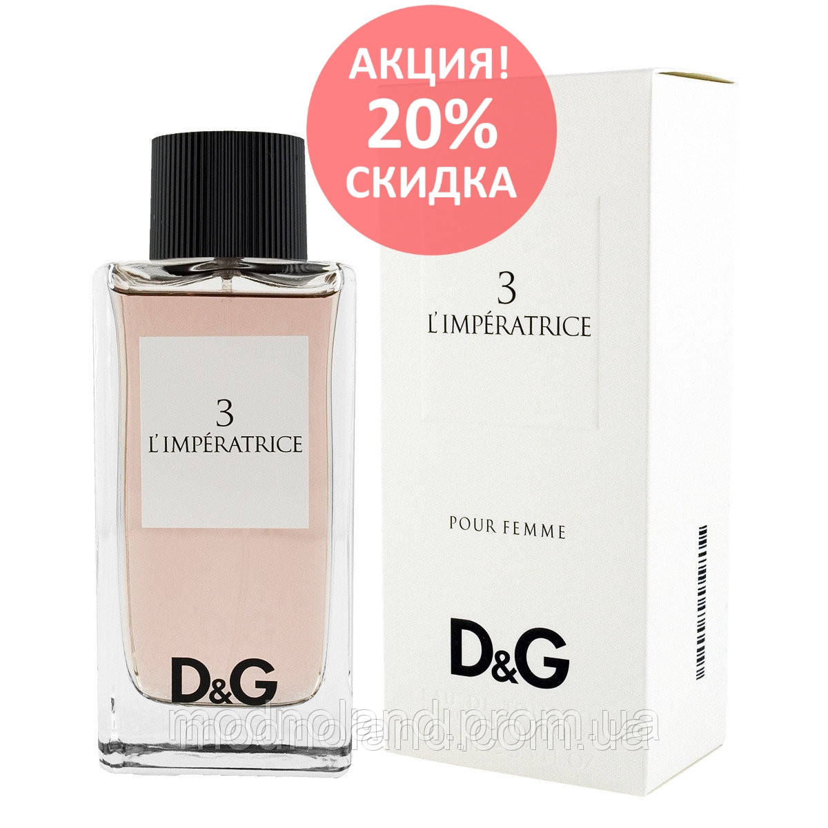 Женская туалетная вода Dolce   Gabbana 3 L Imperatrice 100 ml (Дольче  Габбана 3 0cb1e55e89ef6