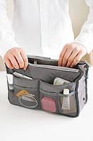 Органайзер Bag in bag maxi серый, Органайзер Bag in bag maxi сірий, Органайзеры в сумку