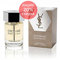 ✅ Мужская туалетная вода Yves Saint Laurent L`Homme 100 ml (Ив Сен Лоран Ль Хом) ✅