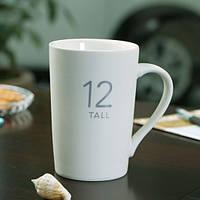 Чашка керамическая Starbucks 12 Tall, Чашка керамічна Starbucks 12 Tall, Оригинальные чашки и кружки