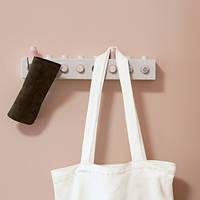 Настенная вешалка Creative с магнитными крючками, Настінна вішалка Creative з магнітними гачками, Крючки-вешалки для одежды