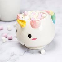 Керамическая чашка Единорог, Керамічна чашка Єдиноріг, Оригинальные чашки и кружки