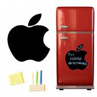 Магнитная доска для мела Apple 40*43см., Магнітна дошка для крейди Apple 40 * 43см.