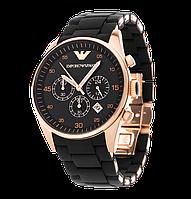 Наручные часы в стиле Emporio Armani ( black)