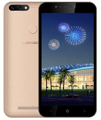 "Смартфон Leagoo Power 2 Pro 2/16Gb Gold, 8+2/5Мп, 5.2"" IPS, 2SIM, 4G, 4000мАh"