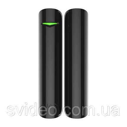 Беспроводной датчик открытия двери/окна Ajax DoorProtect black (черный), фото 2