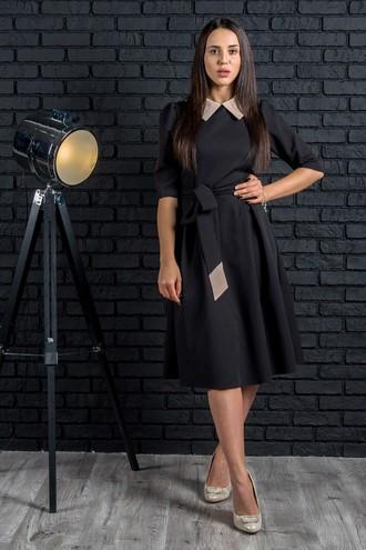 Платье Беатрисс черный (M-XXL)