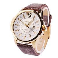 Часы мужские Curren Colorado brown-gold-white
