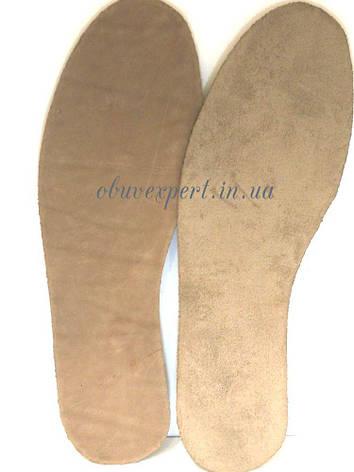 Стельки для обуви Чепрак, разм  универ. до 44, цв. бежевый, фото 2